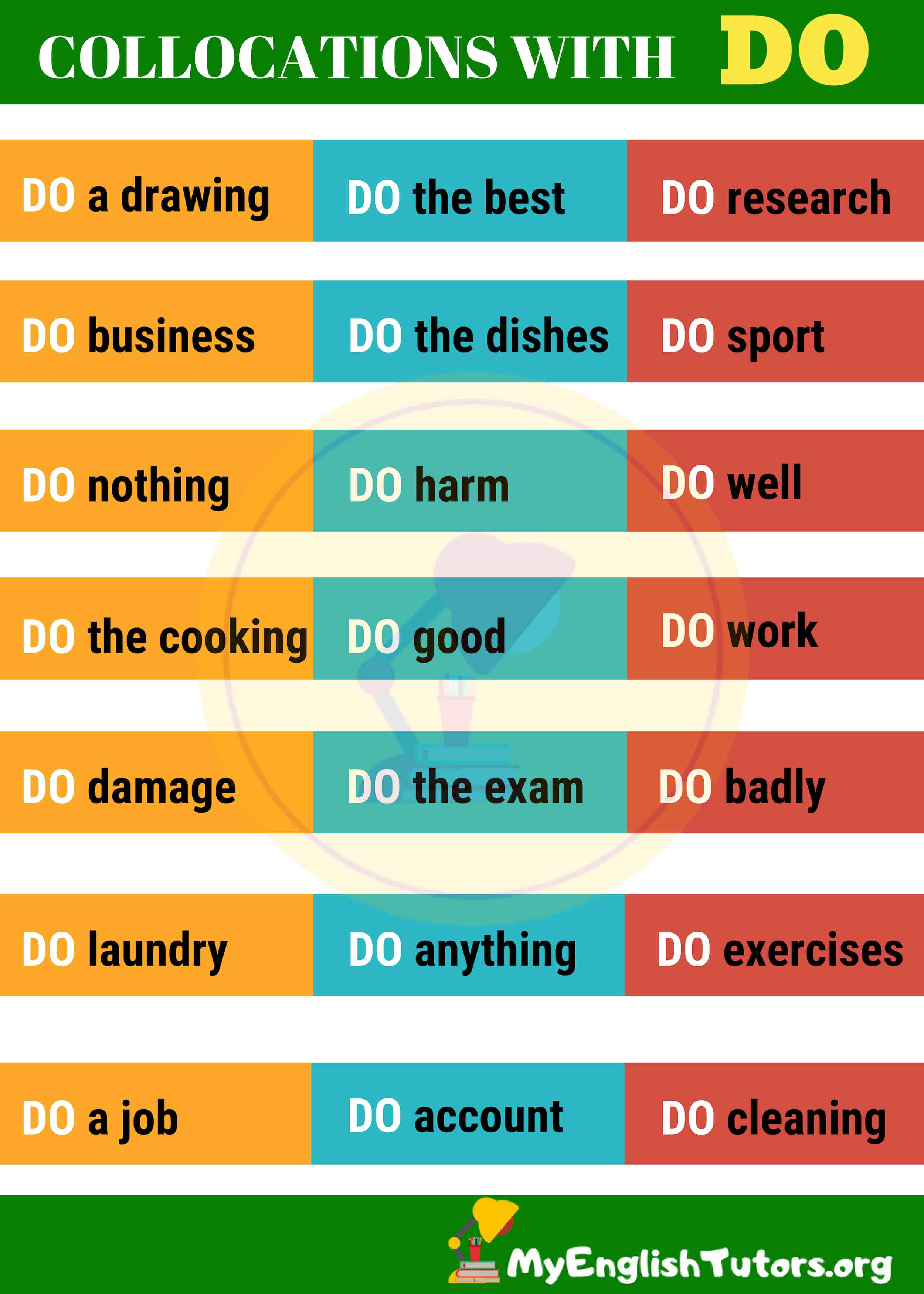 Common Collocations with DO