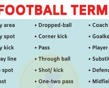 A List of 40 Fantasy Football Terms for Football Lovers! 2