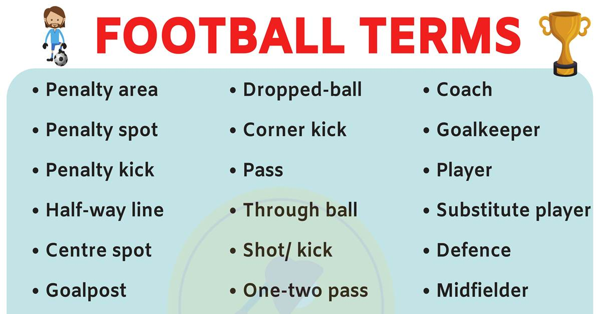 A List of 40 Fantasy Football Terms for Football Lovers! 1