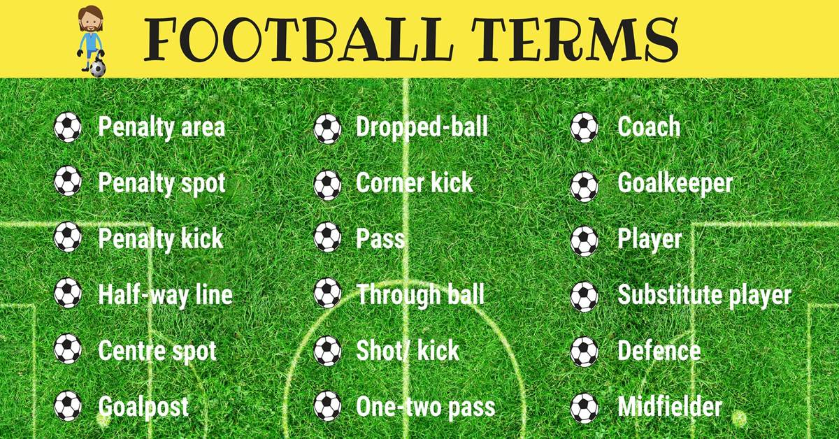 40 Fantasy Football Terms in English 1