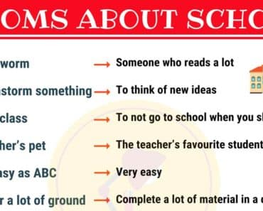 10 Interesting School Idioms in English 1