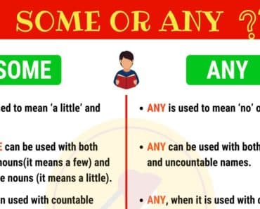 The Differences Between SOME and ANY 4