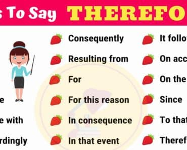 THEREFORE Synonym: 26 Synonyms for THEREFORE in English 6