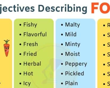 Food Adjectives: 40+ Adjectives for Describing the Taste of Food 5