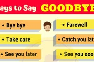 20 Funny Ways to Say GOODBYE 10