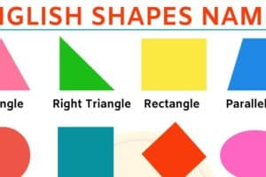 Shapes Names: Learn Different Types of Shapes in English 12