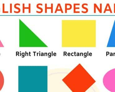 Shapes Names: Learn Different Types of Shapes in English 1