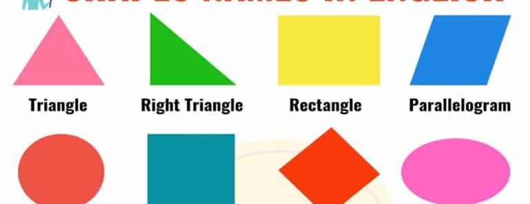 Learn Shapes Names in English 4