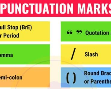 Punctuation Marks in English 4