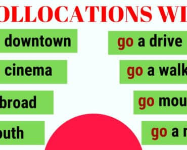 40 Important Collocations with GO 3