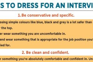 Interview Outfits: 5 Useful Tips for Choosing What to Wear to An Interview! 10