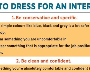 Interview Outfits: 5 Useful Tips for Choosing What to Wear to An Interview! 1