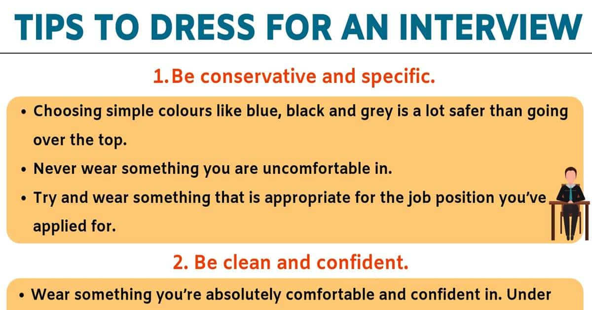 Interview Outfits: 5 Useful Tips for Choosing What to Wear to An Interview! 5