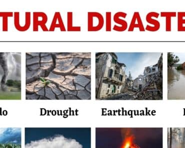 Natural Disasters: List of Common Natural Disasters with the Picture 5
