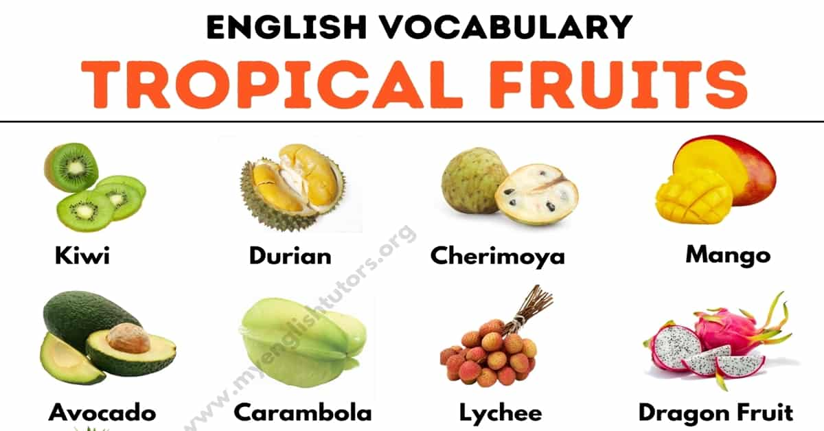 Tropical Fruits: List of 25+ Tropical Fruits You Should Try 3